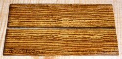 Bocote Razor Scales 140 x 40 x 4 mm