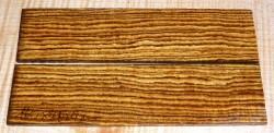 Bocote Rasierer-Griffschalen 140 x 40 x 4 mm