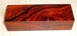 Cocobolo Knife Block 120 x 40 x 30 mm
