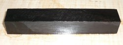Ebony Pen Blank 120 x 20 x 20 mm