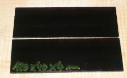 Ebenholz Griffschalen 120 x 40 x 4 mm