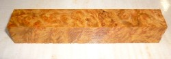 Goldfield Burl Pen Blank 120 x 20 x 20 mm
