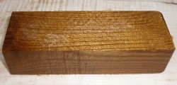 Laburnum (Golden Chain) Knife Blank 120 x 40 x 30 mm
