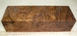 Walnut Burl (Caucasian) Knife Blank 120 x 40 x 30 mm