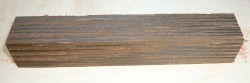 Palm Wood, Black Palmyra Pen Blank 120 x 20 x 20 mm