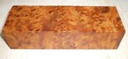 Thuja-Maser Griffblock 120 x 40 x 30 mm