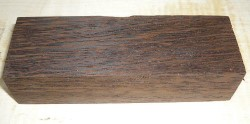 Wenge Messergriffblock 120 x 40 x 30 mm
